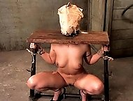 Slave girls trained to serve kinky dinner party
