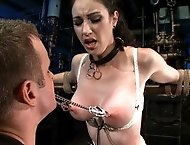 Slave`s submissiveness put to the test